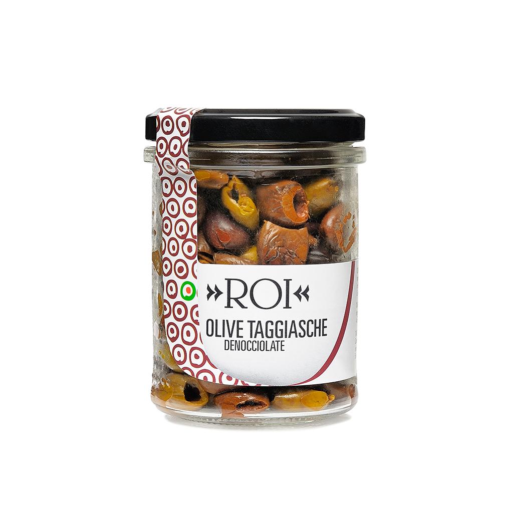 Olive Taggiasche denocciolate asciutte 100g