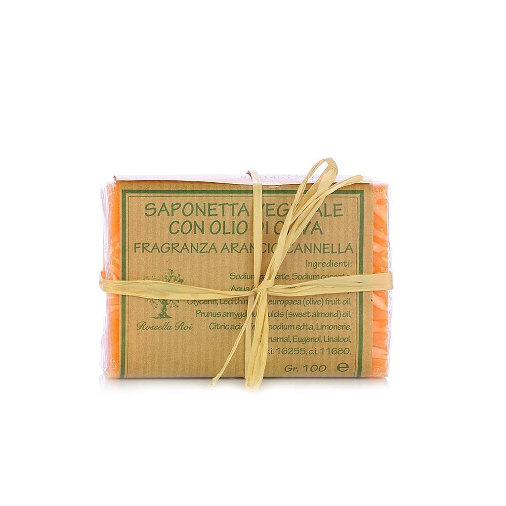 Saponetta Arancio e Cannella 100g
