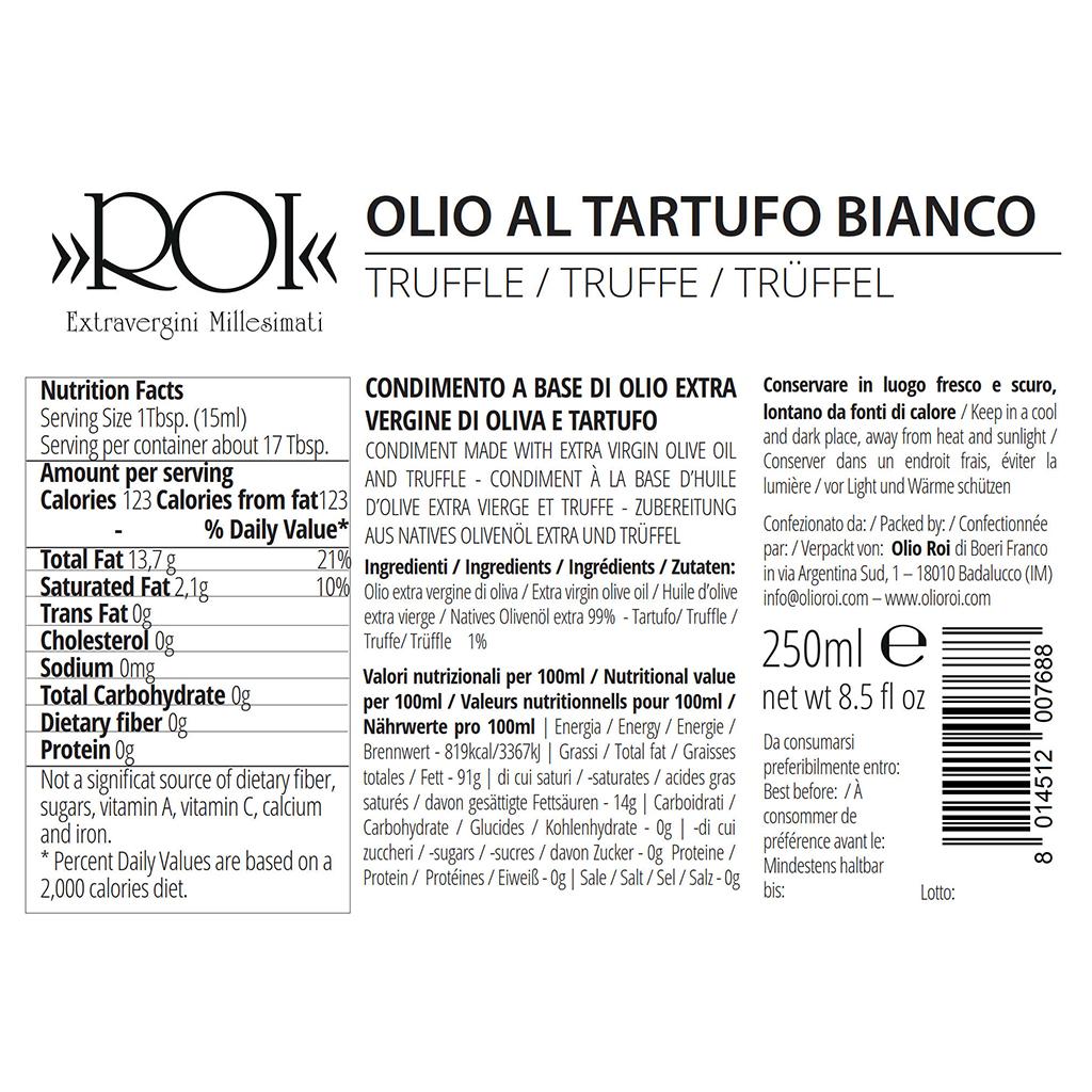 Olio al Tartufo Bianco – 250ml